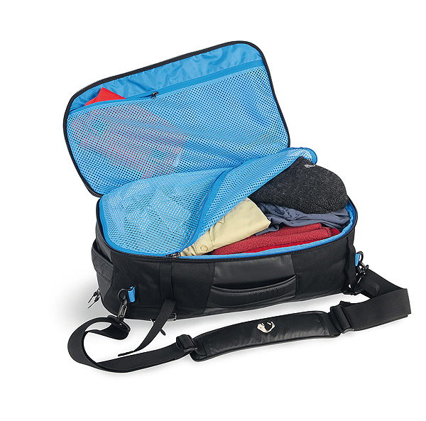 Bag open look