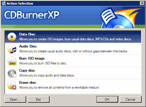 CDBurnerXP - what you need (without what you don't) for
