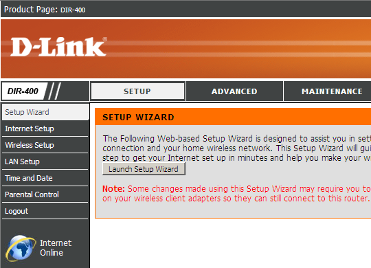 dlink_web_interface