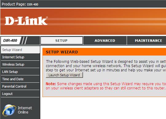 dlink_web_interface