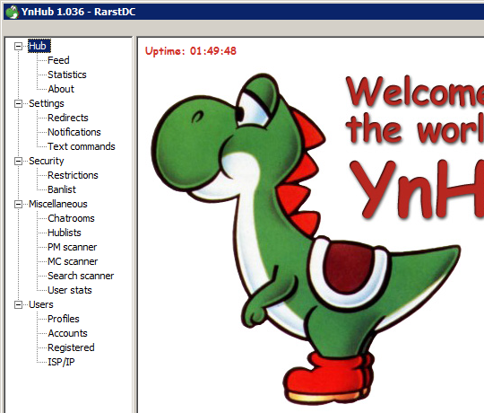 Rarst Ynhub net P2p Your Own Host Network With