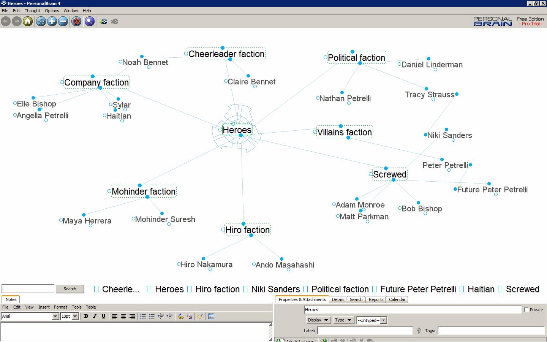 personalbrain_interface