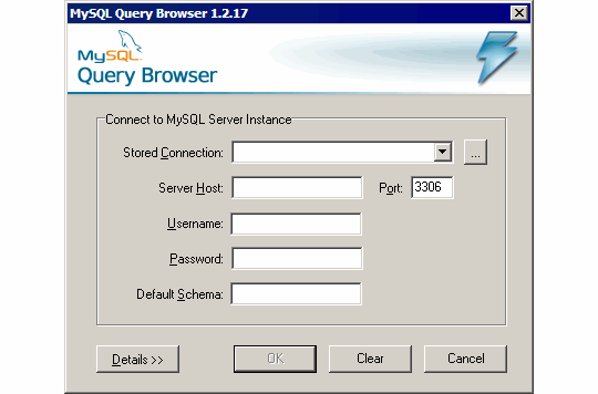 mysql_query_browser_connection
