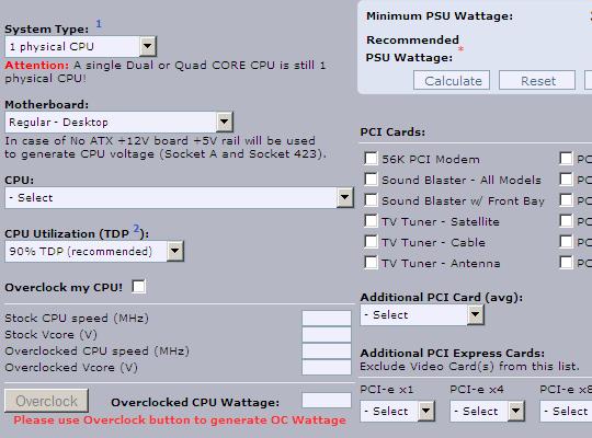psu_calculator_interface