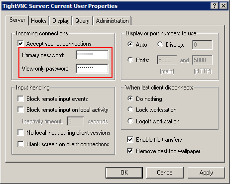 Remote access to PC with TightVNC | Rarst net