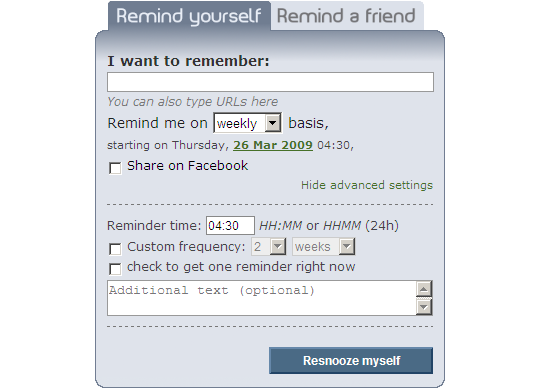 resnooze_interface