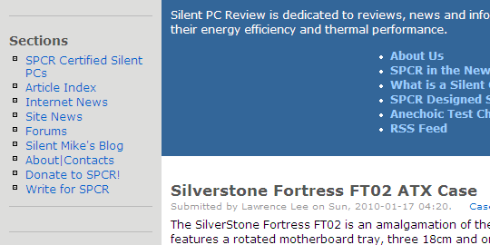 silentpcreview_interface